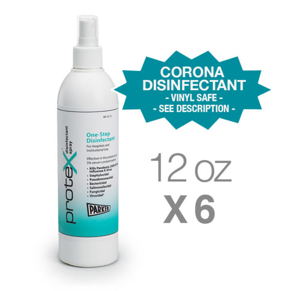 Protex Disinfectant Spray, 12 ounce/6 pack